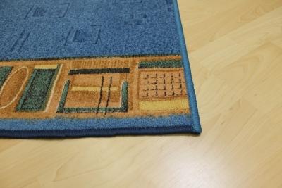 teppichkiste teppich l ufer avignon blau 80 cm breit. Black Bedroom Furniture Sets. Home Design Ideas