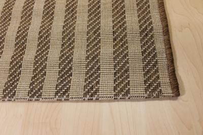 teppichkiste sisal optik teppich country life streifenmuster beige braun. Black Bedroom Furniture Sets. Home Design Ideas