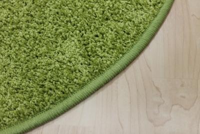 Teppich grün  Teppichkiste - Hochflor Shaggy Teppich Merlin grün rund