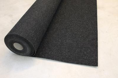 Hervorragend Teppichkiste - Nadelfilz-schwarz-grau-Auslegware-Objektware  GQ64