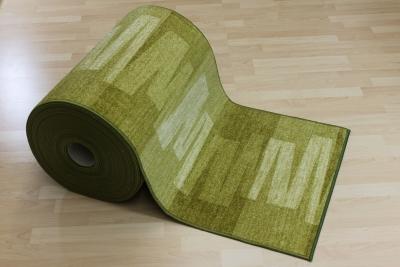 Teppich läufer grün  Teppichkiste - Teppich Läufer Nizza Grün Velour 67 cm breit