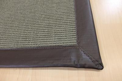 teppichkiste sisal teppich grau 70 x 135 cm mit kunst. Black Bedroom Furniture Sets. Home Design Ideas