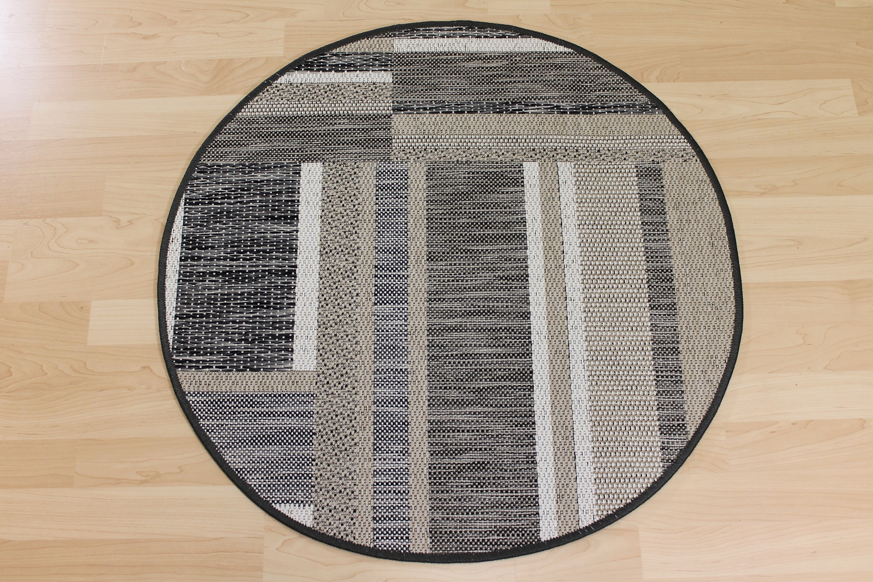 teppichkiste sisal optik teppich naturino rund beige. Black Bedroom Furniture Sets. Home Design Ideas