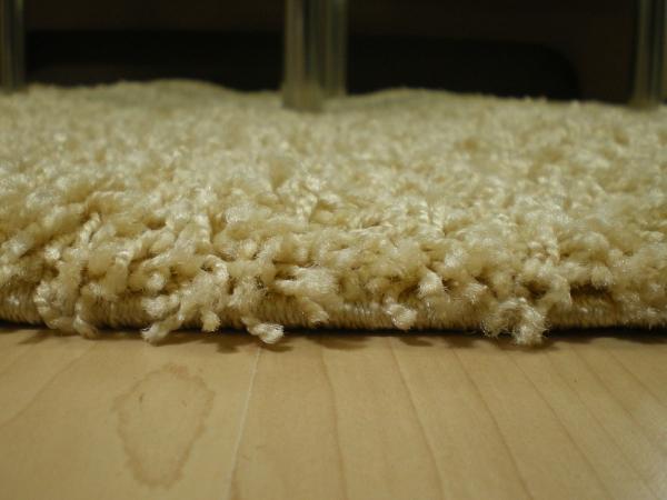 Teppichkiste  Shaggy Teppich Baly beige 200 x 290 cm
