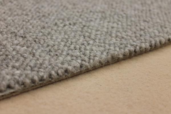 teppichkiste wollteppich izmir schlinge berber grau beige auslegware. Black Bedroom Furniture Sets. Home Design Ideas