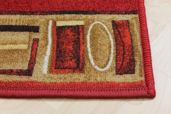 Teppich Läufer Avignon rot 67 cm breit