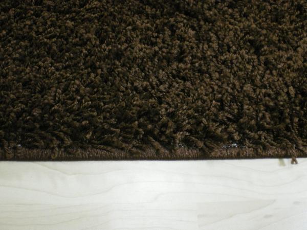 Willkommen bei Teppichkiste  Shaggy Teppich Baly braun 60
