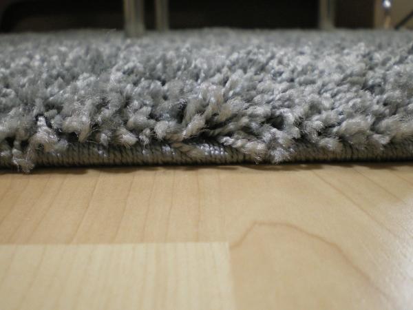 Willkommen bei Teppichkiste  Shaggy Teppich Baly grau 60