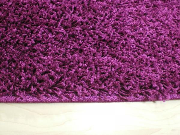 Willkommen bei Teppichkiste  Shaggy Teppich Baly lila 133