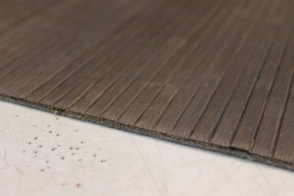 Bambus Teppich Braun 200cm breit für Camping oder