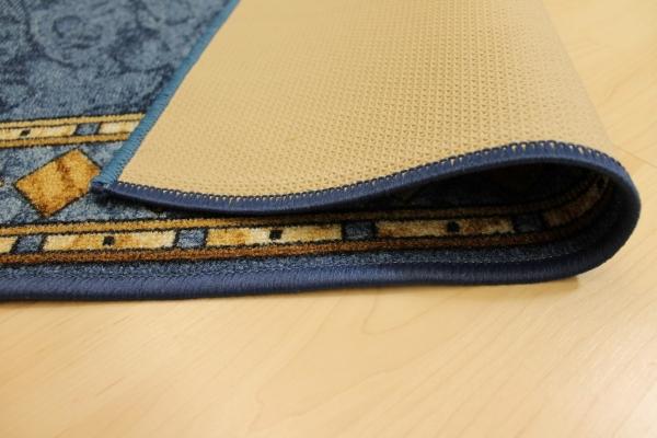 teppichkiste teppich laeufer cannes blau 100 cm breit. Black Bedroom Furniture Sets. Home Design Ideas