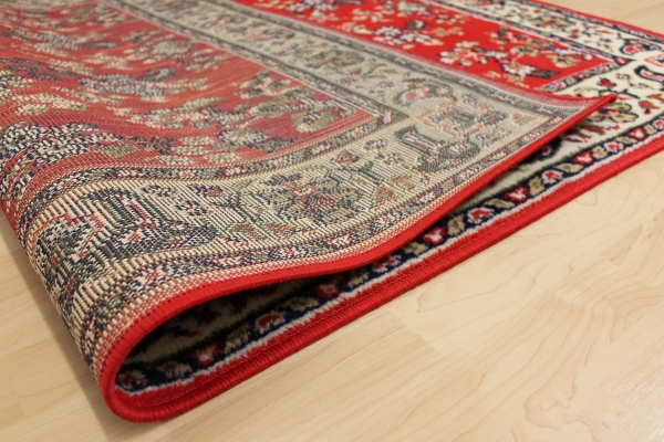 design teppich klassika rot orient muster ebay. Black Bedroom Furniture Sets. Home Design Ideas