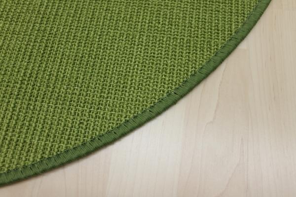 Teppich rund grün  Willkommen bei Teppichkiste - Sisal Teppich Malta, grün, Rund ...