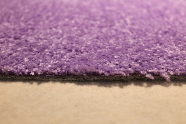 hochflor shaggy merlin lila flieder teppichboden auslegware ebay. Black Bedroom Furniture Sets. Home Design Ideas