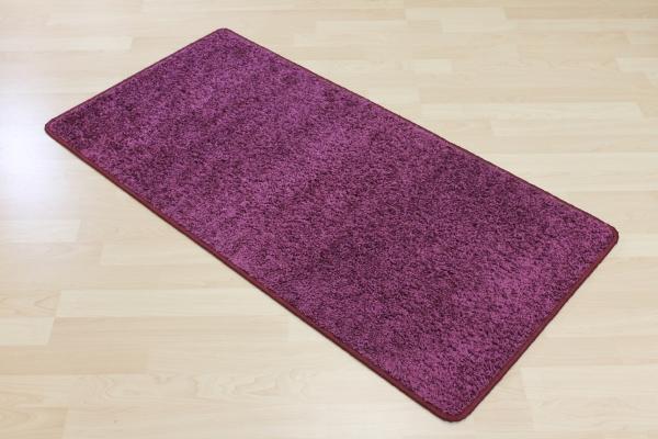 Teppichkiste  Hochflor Shaggy Teppich Merlin violett
