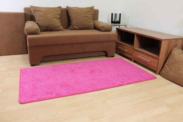 hochflor shaggy merlin rosa pink kinder teppich ebay. Black Bedroom Furniture Sets. Home Design Ideas