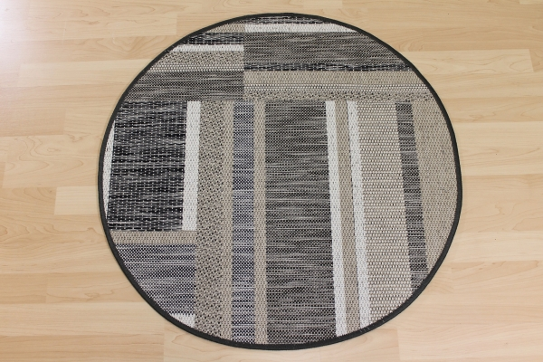 willkommen bei teppichkiste sisal optik teppich naturino rund beige grau schwarz. Black Bedroom Furniture Sets. Home Design Ideas