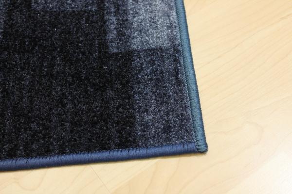 teppich l ufer nizza grau blau velour 67 cm breit ebay. Black Bedroom Furniture Sets. Home Design Ideas