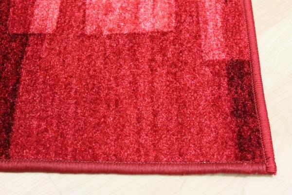 Teppich Läufer Nizza Rot Velour 67 cm breit  eBay