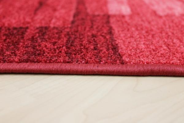 teppich l ufer nizza rot velour 67 cm breit ebay. Black Bedroom Furniture Sets. Home Design Ideas