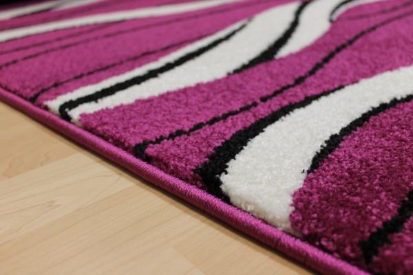 teppich l ufer nova lila violett treppenl ufer 80 cm breit ebay. Black Bedroom Furniture Sets. Home Design Ideas
