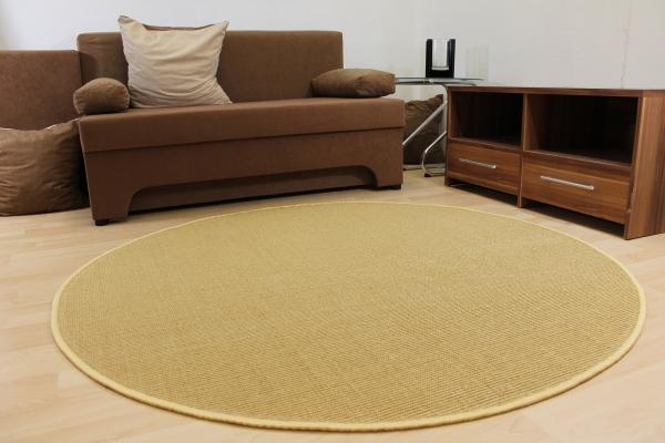 sisal teppich malta naturfaser 10 farben verschiedene gr en u formen gekettelt. Black Bedroom Furniture Sets. Home Design Ideas