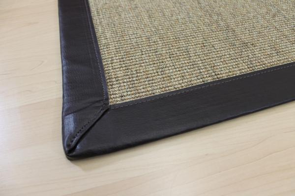 Teppichkiste  Sisal Teppich Malta Braun Nussfarbe 70 x