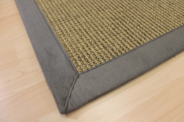 teppichkiste sisal teppich nussfarbe beige 70 x 135 cm. Black Bedroom Furniture Sets. Home Design Ideas